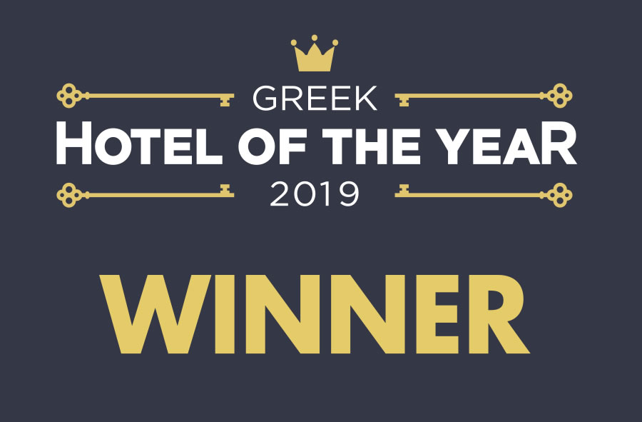 ASTRA INN is this year's Winner of Greek Hotel of the Year 2019!